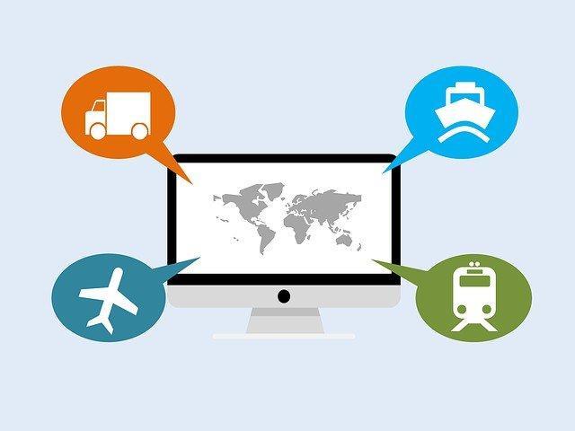 Agência de transporte de carga internacional